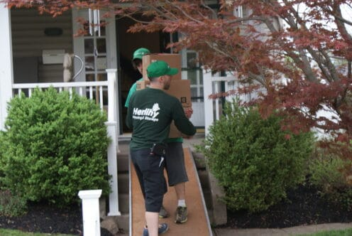 """Herlihy Delivered """"Best Moving Experience Ever"""" on Move from New Albany to Galena, Ohio"""