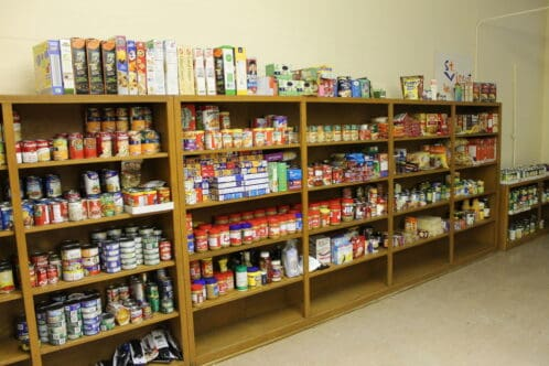 Herlihy Supports St. Vincent DePaul Food Drive at St. Peter's Catholic Church in Chillicothe