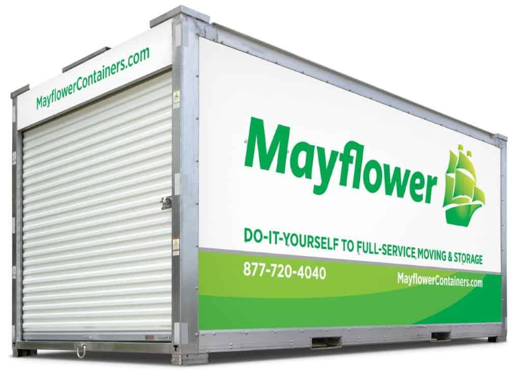 mayflower container storage